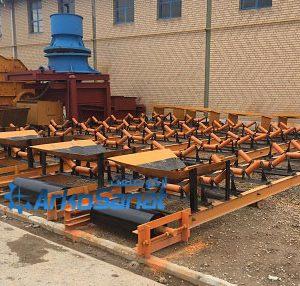 خرید و فروش انواع نوار نقاله ( تسمه نقاله ) دست دوم و کارکرده با عرض 60 - 80 - 100 - 120 و طول 10 - 12 متر با قیمت مناسب