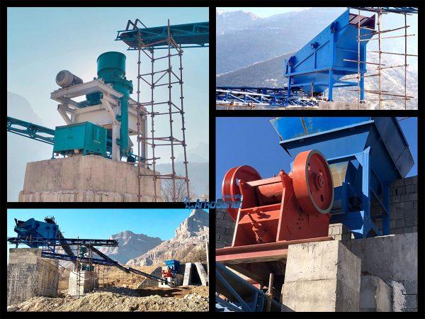 قیمت خط تولید سنگ شکن دست دوم و کارکرده جهت فروش
