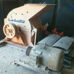 فروش دستگاه آسیاب چکشی سنگ معدنی 20 چکشه کارکرده